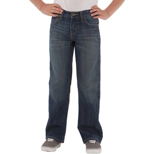 Signature by Levi Strauss &ampamp Co.&amptrade Boys&39 Boot Cut Fit