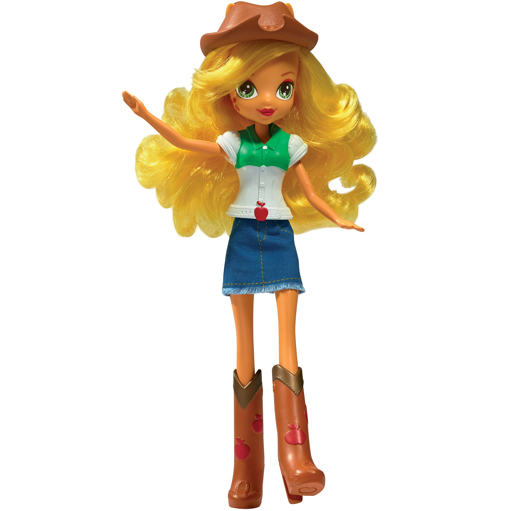 My Little Pony Equestria Girls Collection Applejack Doll  Walmartcom