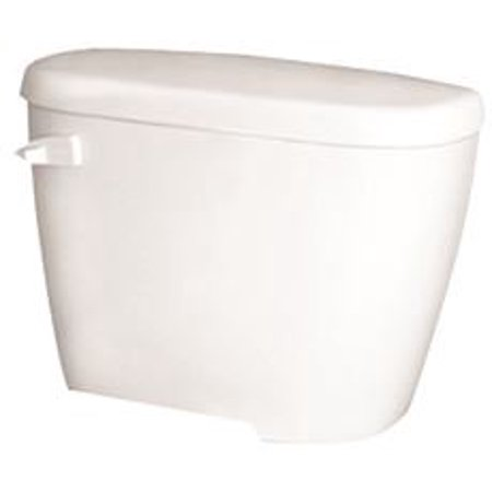 GERBER MAXWELL SIPHON JET TOILET TANK WITH RIGHT LEVER, 1.6 GPF, 12 IN. ROUGH-IN, WHITE