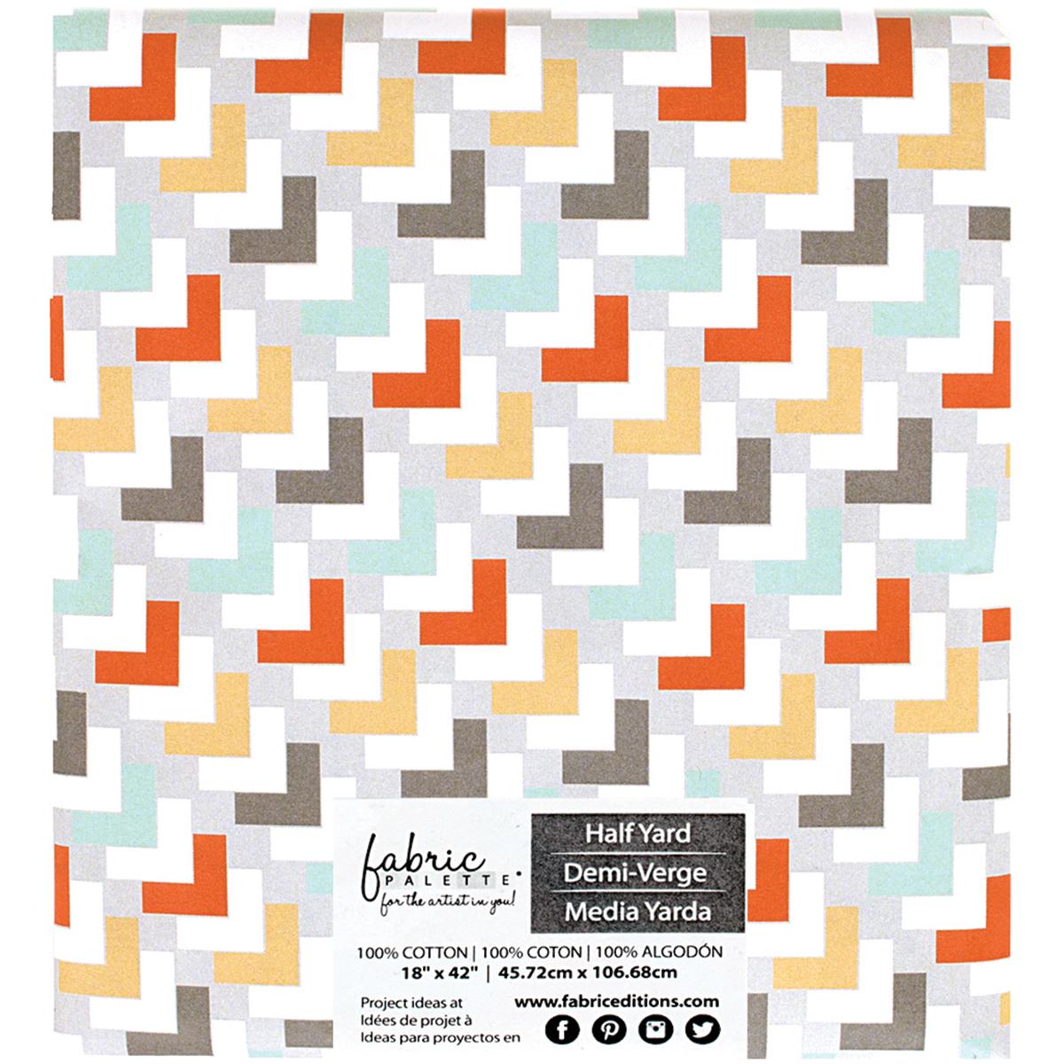"Fabric Palette Precut 18""X42"" 1/Pkg-Kohana 1"