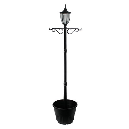 J & J Global Crestmont Solar Lamp Post and (Madison Solar Lamp Post & Planter Replacement Parts)