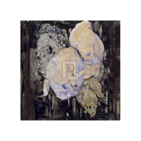 - Faded Roses Poster Print by Charles Rennie Mackintosh (20 x 24)