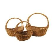 WaldImports 3 Piece Willow Basket Set