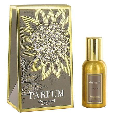 Eau de Perfum, DIAMANT 30 ML, Made in FRANCE, Light and uplifting fragrance combining tangerine By Fragonard (Diamant Sonnenbrille)
