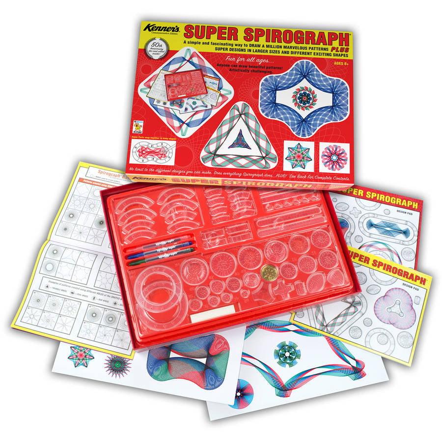 Kahootz Toys - The Original Super Spirograph Retro
