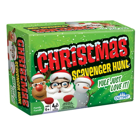 Chritmas Games (Outset Media Christmas Scavenger Hunt Game - Yule Just Love)