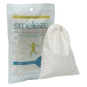 SMELLEZE Reusable Bathroom Smell Removal Deodorizer Pouch: Rids Commode Stink Without Scents in 100 Sq. Ft.