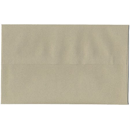 "JAM Paper A10 Invitation Envelope - 6"" x 9 1/2"" - Recycled Passport Envelope - Sage Green Recycled - 50/pack"