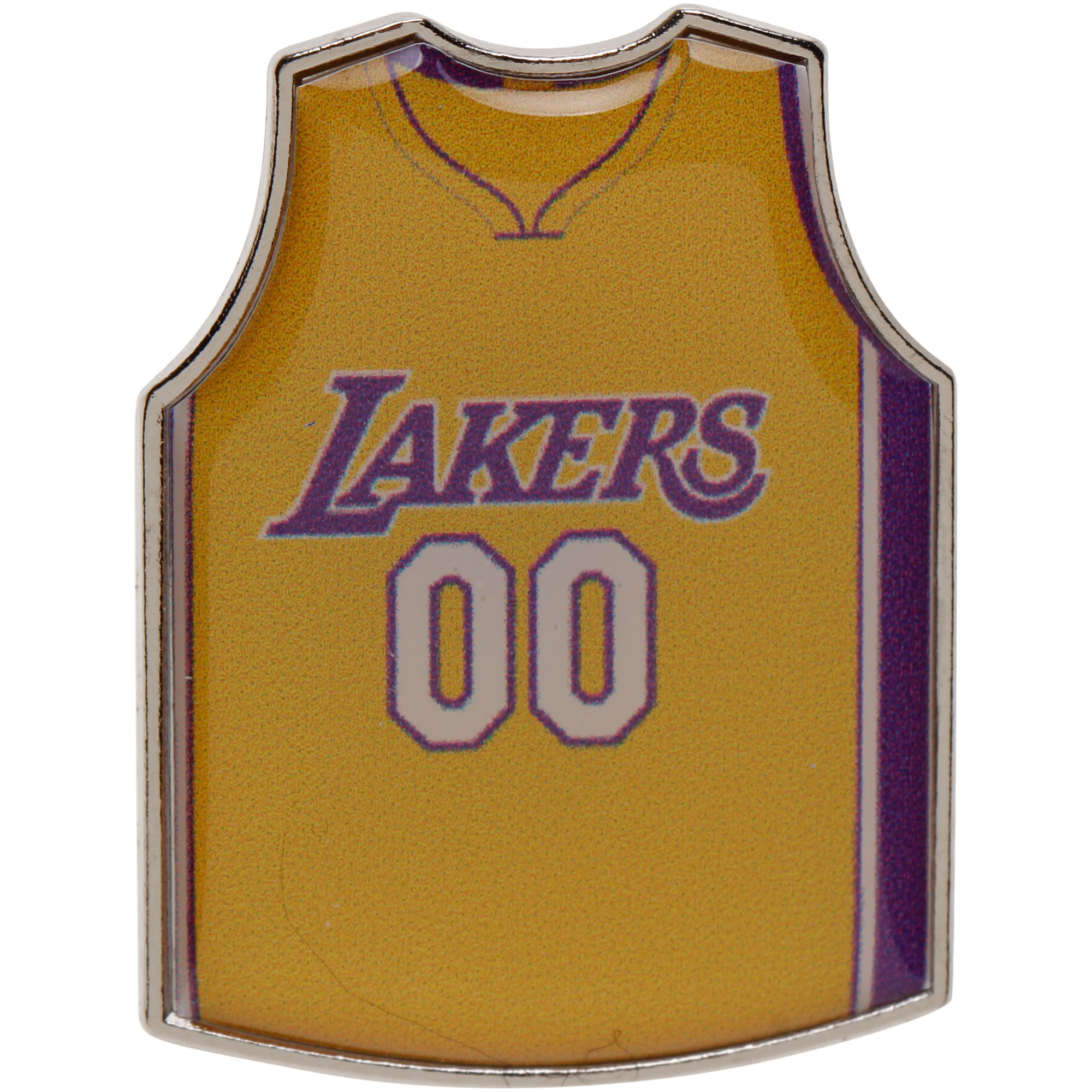 Los Angeles Lakers Home Jersey Pin - Yellow - No Size