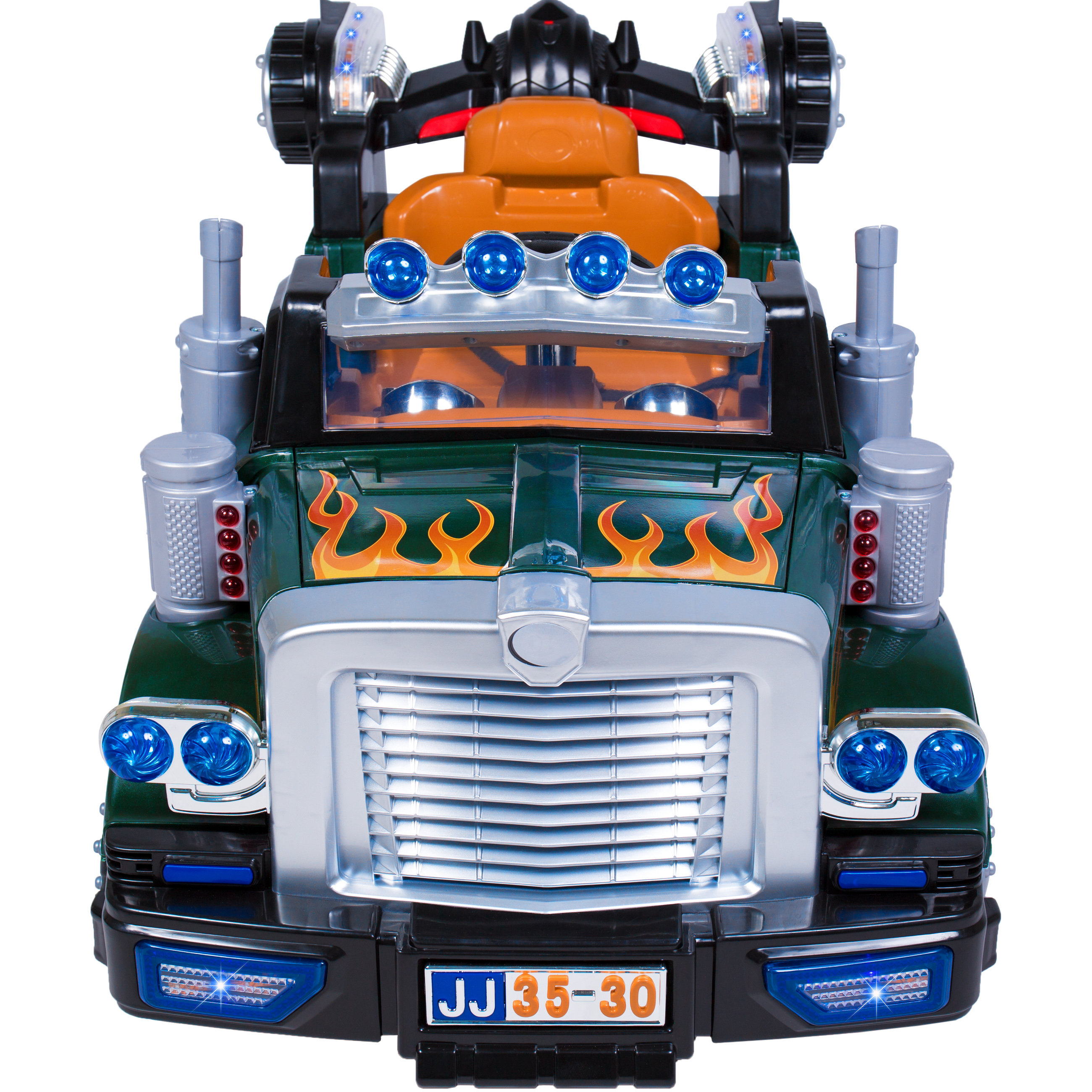 best choice products 12v ride on semi truck kids remote control