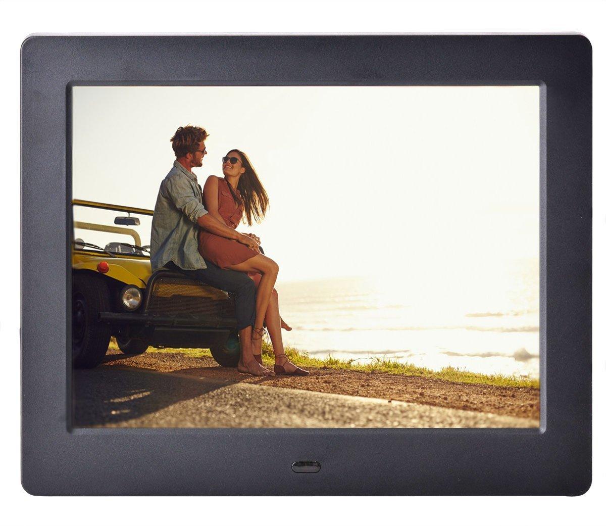 Bangcool 8in Hi-Res Digital Photo Frame LED Digital Picture Frames ...