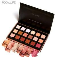 matoen FOCALLURE 18 Colors Pearlized Color Eyeshadow Powder Eye Shadow Palette Set B