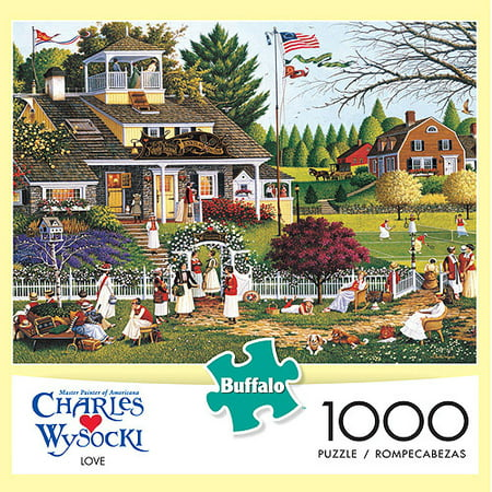 Buffalo Games Charles Wysocki Love Jigsaw Puzzle, 1,000 Pieces