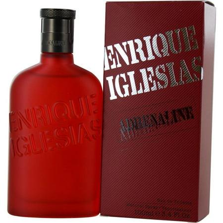Adrenaline Eau De Toilette (Adrenaline Cologne By Enrique Iglesias Eau De Toilette Spray 3.4 oz(Pack of)