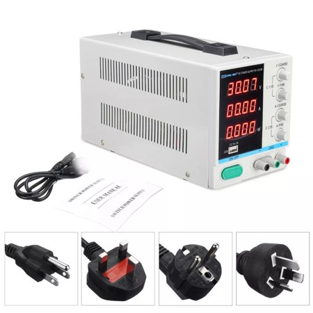 LONG PS-3010DF /220V 30V 10A Adjustable LED Digital Display DC Power Supply Switching Regulated 5V 2A USB Power Supply - image 5 of 7