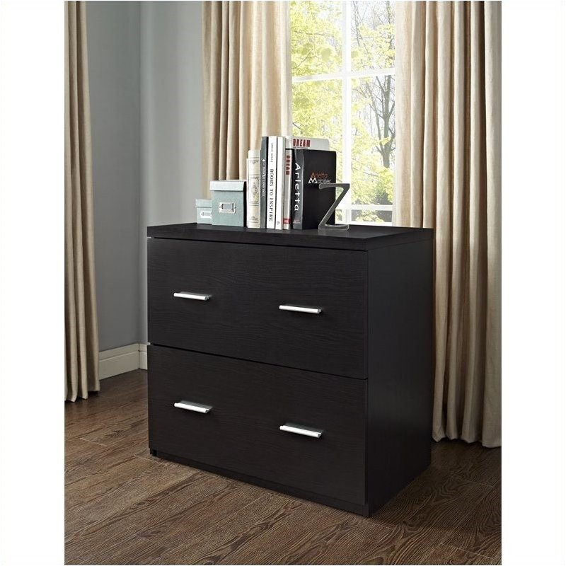 Nice Pemberly Row 2 Drawer Lateral File Cabinet In Espresso