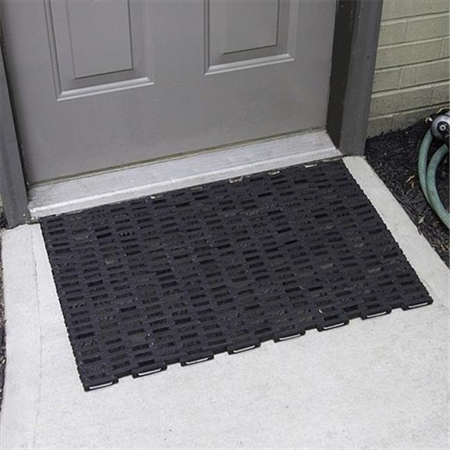 Durable Corporation 108S2030 20 in. W x 30 in. L Durite 108 Industrial Mats - Straight weave