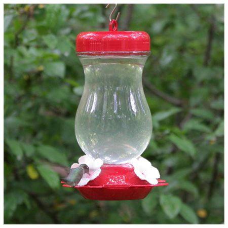 Perky-Pet 24 oz Glass Top Fill Hummingbird Feeder ()