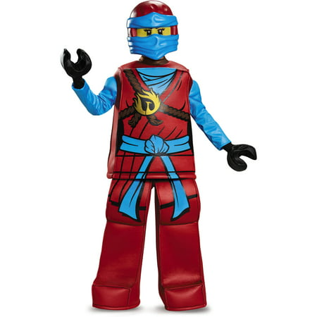 LEGO Ninjago Nya Child Prestige Halloween Costume - Diy Ninjago Costume