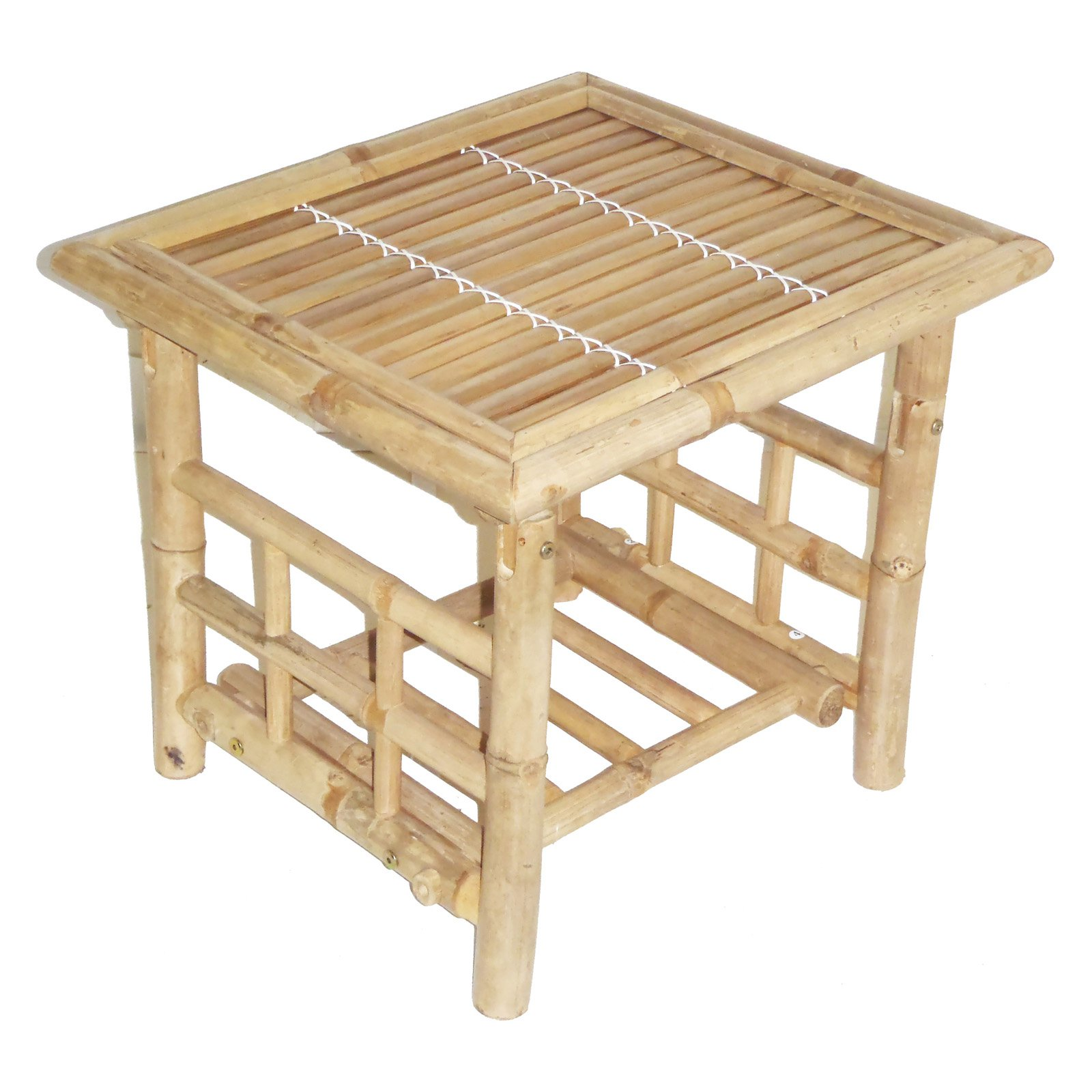 Bamboo54 Wood Square Patio End Table