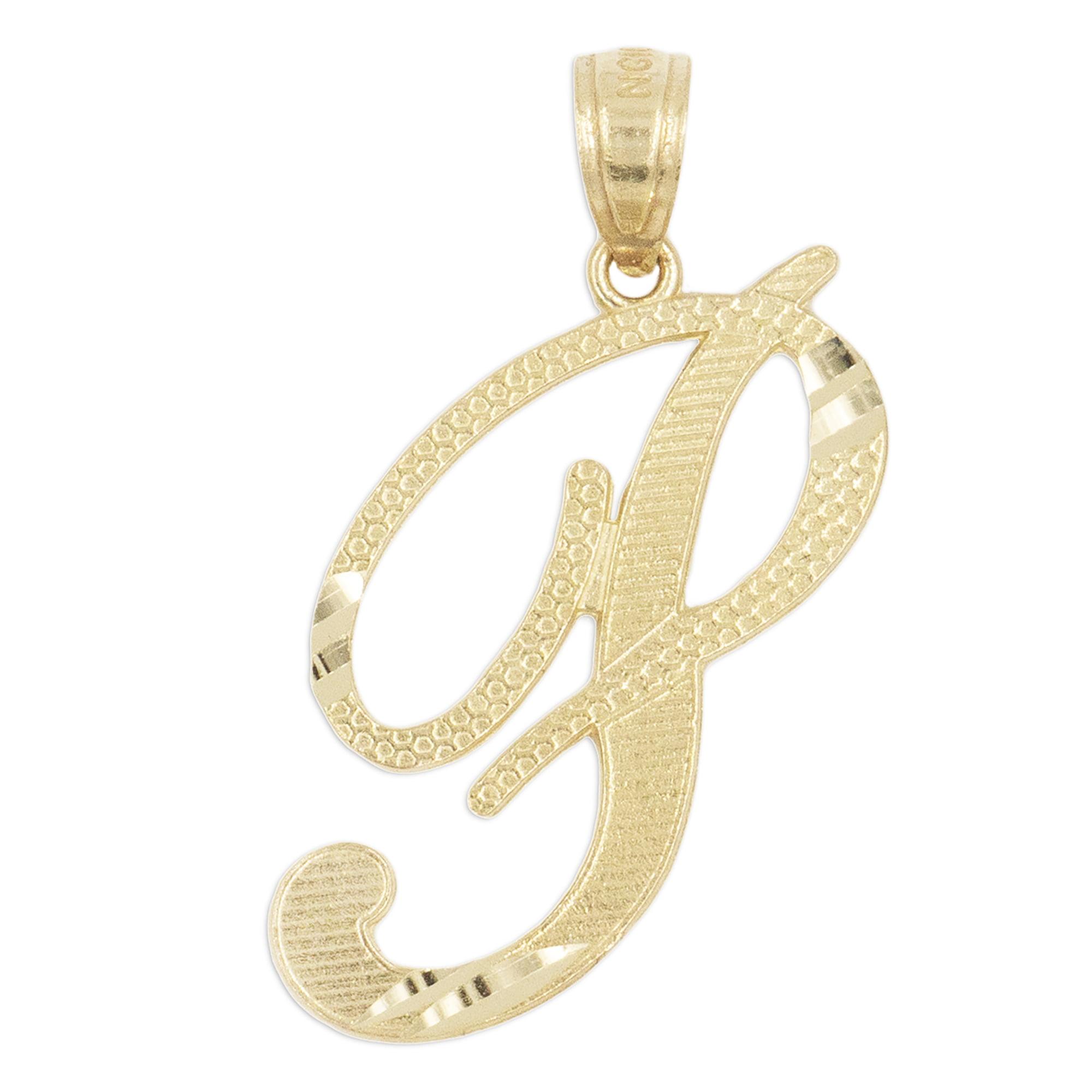 14K Real Yellow Gold Small It/'s A Boy Diamond Cut Charm Pendant Baby /& Children
