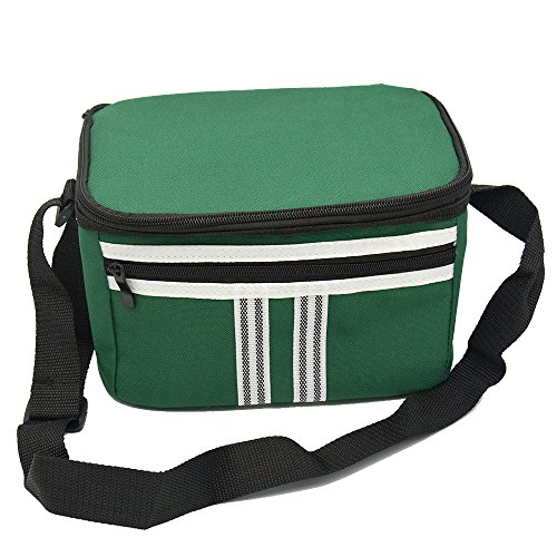 6L Small Reusable Lunch Box Insulated Lunch Bag Soft Cooler Bag ... 27d441d5ed03