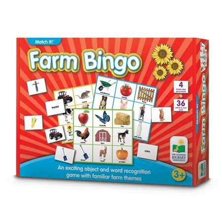 Farm Game (The Learning Journey Match It! Bingo,)