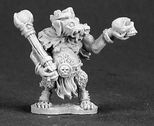 Reaper Miniatures Snar Mangebelly Kobold King 03295 Dark Heaven Unpainted Metal