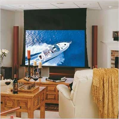 Draper 118291 Ultimate Access/Series V Motorized Projection Screen - 52 x 92''