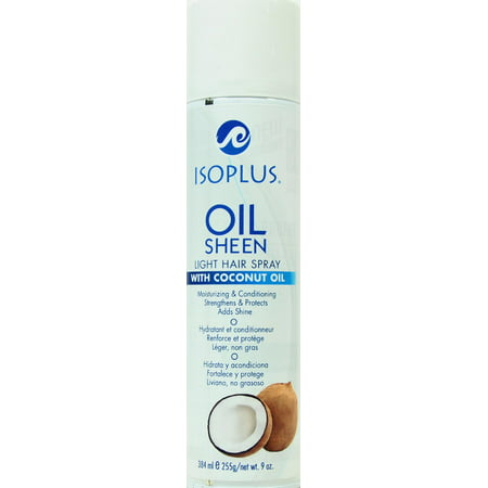 Black Light Hair Spray (Isoplus Oil Sheen Light Hair Spray, 9)
