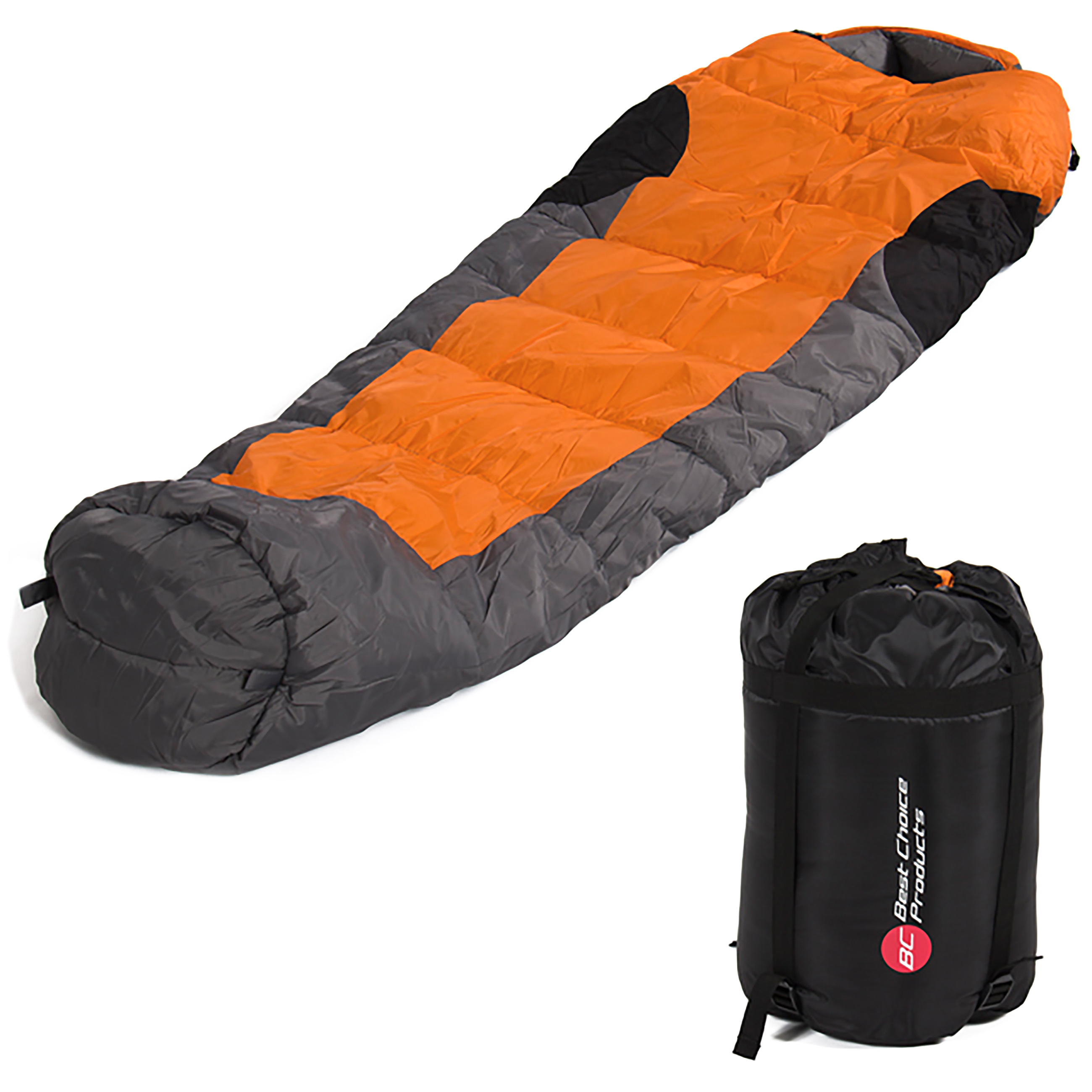 Mummy Sleeping Bag 5F -15C Camping Hiking With Carrying Case Brand New by