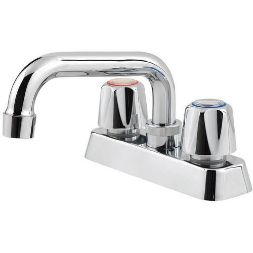 Pfister Pfirst Centerset Laundry Faucet, Polished Chrome