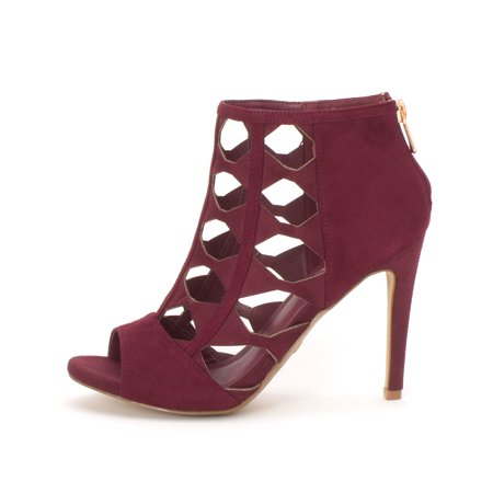 2e829cf3246 Xoxo Womens Colbie Peep Toe Platform Pumps | Walmart Canada