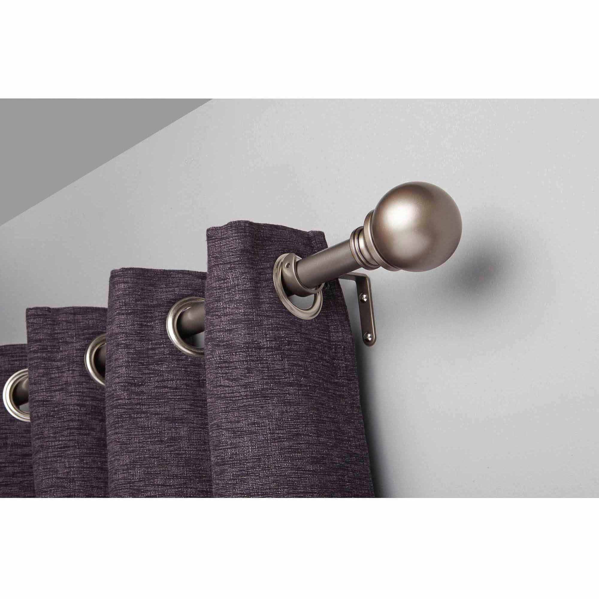 Better Homes Amp Gardens 36 66 Quot Boule Adjustable Curtain Rod