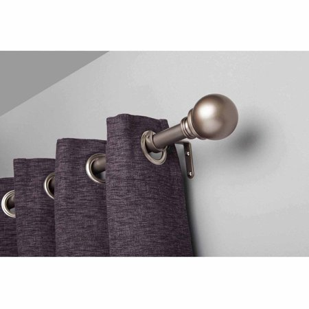 Better homes gardens 36 66 boule adjustable curtain rod - Better homes and gardens curtain rods ...