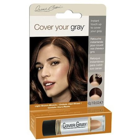 Blonde Big Stick - Cover Your Gray for Women Touch Up Stick Light Brown/Blonde, 0.15 oz (Pack of 2)