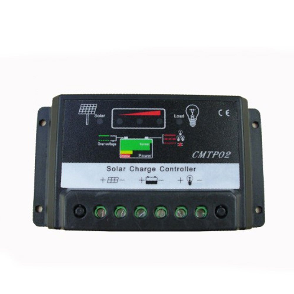 Solar Panel Charge Controller Solar Panel Battery Regulator Safe Protection Monitor Auto Switch 12V 24V 15A