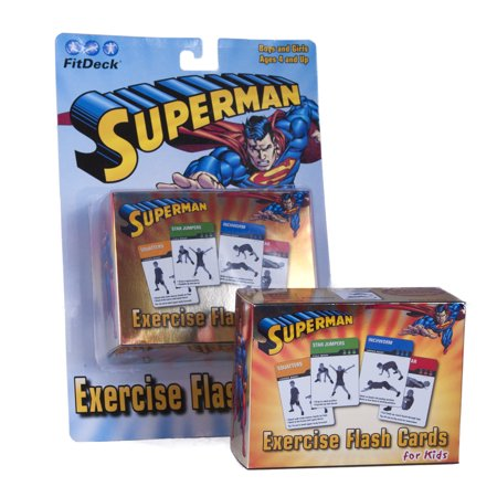 Superman FitDeck Exercise Playing Card