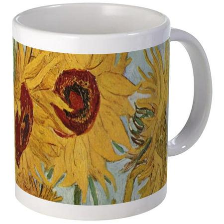 CafePress - Van Gogh Sunflowers Wraparound Mug - Unique Coffee Mug, Coffee Cup CafePress