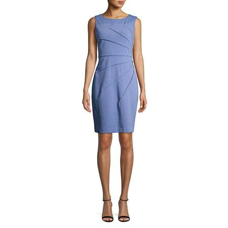 Calvin Klein Pleated Dress (Pleated Sheath Dress)