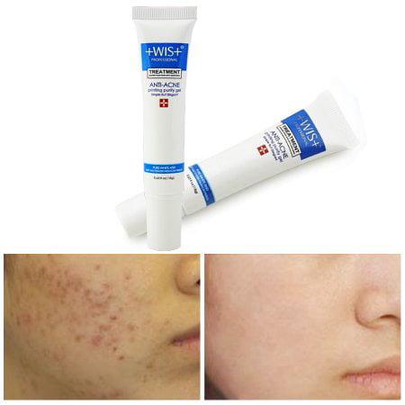1 set WIS Face Skin Care Scar Acne Printed Repair Scar Acne Printed Purifying