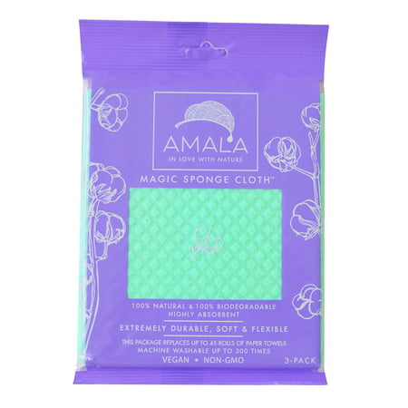 Magic Sponge Cloth 3-Pack