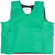 "Abilitations Deep Pressure Sensory Vest, Medium, 36"" x 20"", Neoprene, Green"