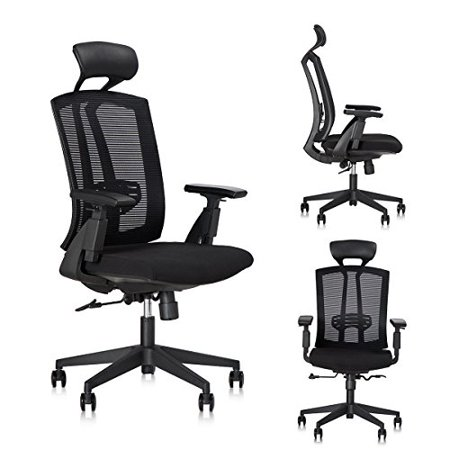Enjoyable Dr Office Ergonomic Office Chair High Back Mesh Home Desk Chair Modern Executive Home Office Chairs With Headrest And Armrest Lamtechconsult Wood Chair Design Ideas Lamtechconsultcom
