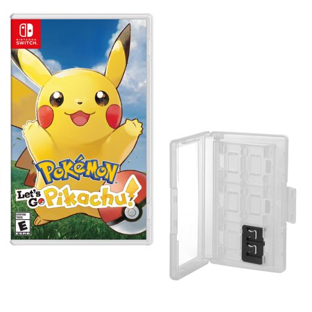 Pokemon Let's go Pikachu Game and