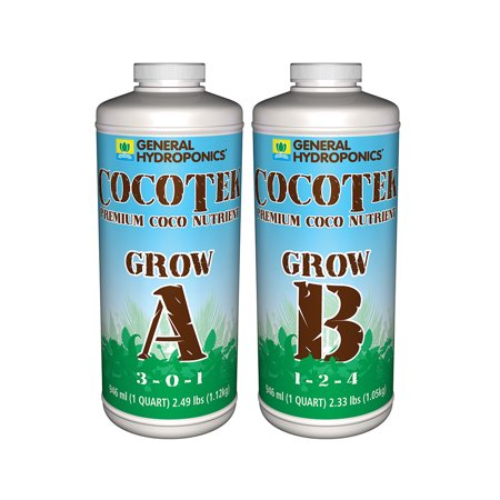 General Hydroponics Cocotek Coco Grow A + B Set (Cocotek Grow Mat)