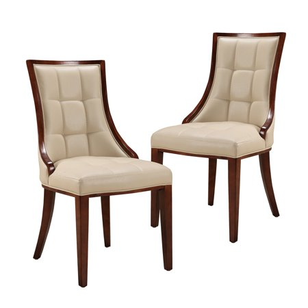 Ceets 5th Ave Leather Dining Chair - Set of 2 ()