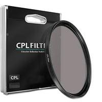 52mm CPL Circular Polarizer Filter for Nikon DX Nikkor 40mm f/2.8G Micro AF-S Lens