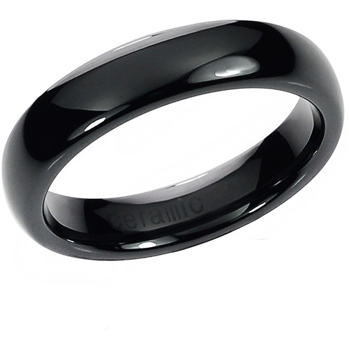 Daxx Men's Ceramic Domed Ring