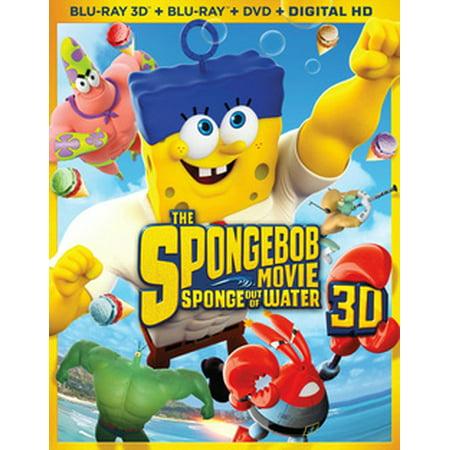 The Spongebob Movie: Sponge Out of Water (Blu-ray) (Spongebob Halloween Movie Part 1)